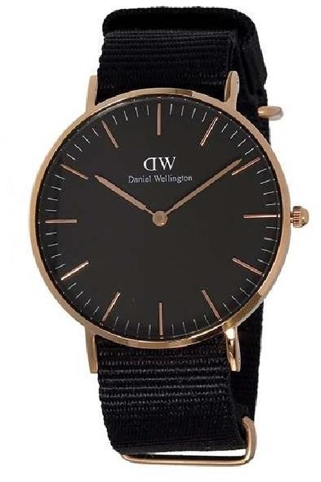 Daniel Wellington DW00100150 36 Classic Black Cornwall