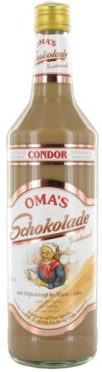 Condor Oma's Sahnelikor Schokolade 1L