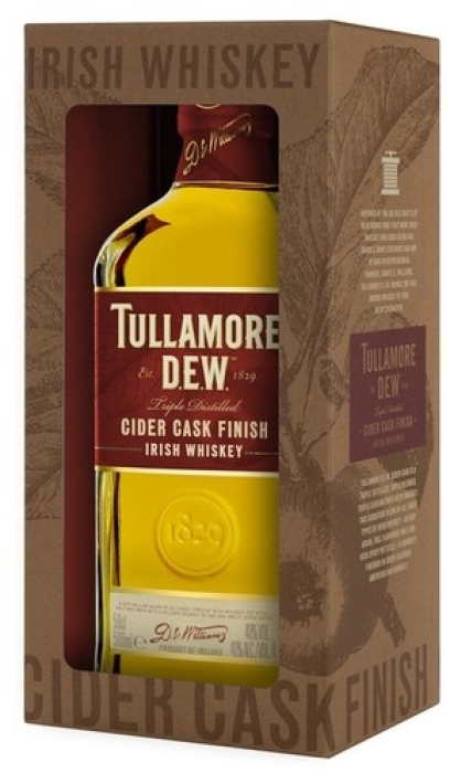 Tullamore Dew Cider Cask Finish Whiskey 40% 0.5L