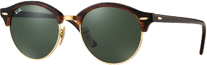 Ray-Ban Sunglasses Clubround Red Havana