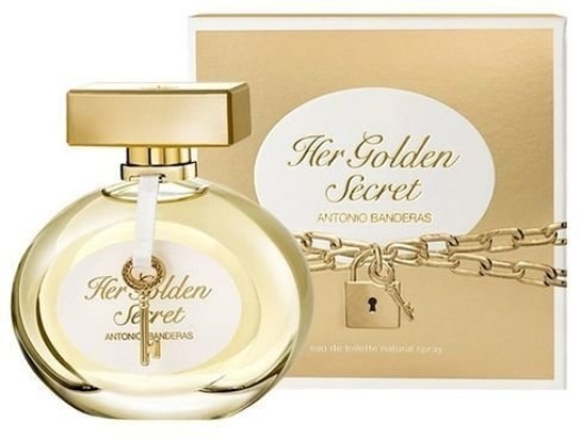 Antonio Banderas Her Golden Secret EdT 80ml