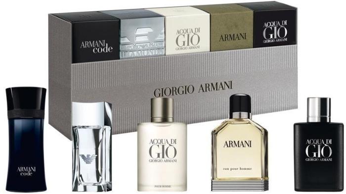 Giorgio Armani Coffret 3x5ml+4ml+7ml