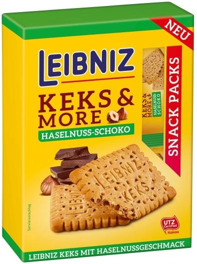 Leibniz Keks 'N' More Haselnuss-Schoko