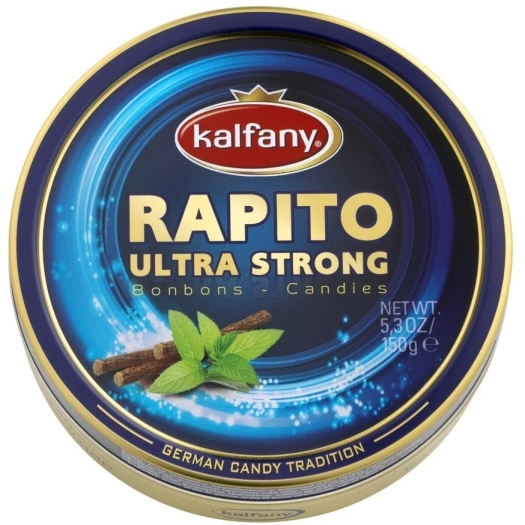 Kalfany Rapito Ultra Alcohol content candies 150g