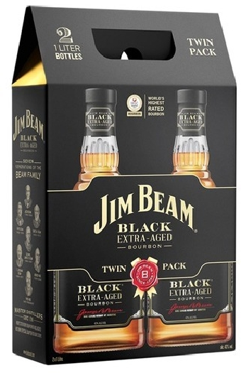 Jim Beam Black 2x1L 43%