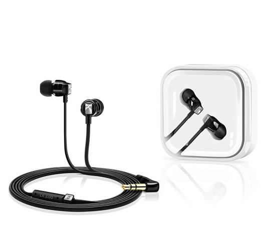 Sennheiser CX 3.00 In-Ear Headphone - Black 12 g