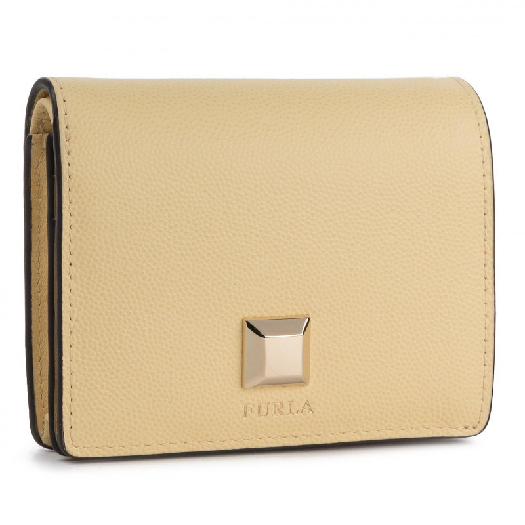 Furla Mimi S Bifold Wallet, Yellow 1046704