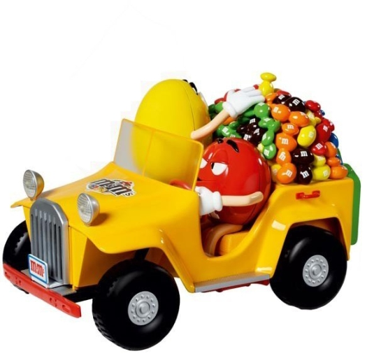 M&M's Wheels Dispenser 90 g