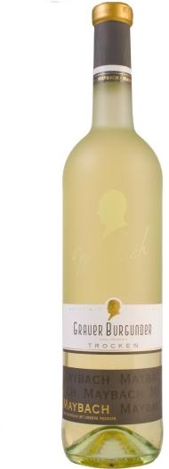 Peter Mertes Maybach Grauer Burgunder Qualitatswein Trocken 11.5% 0.75L