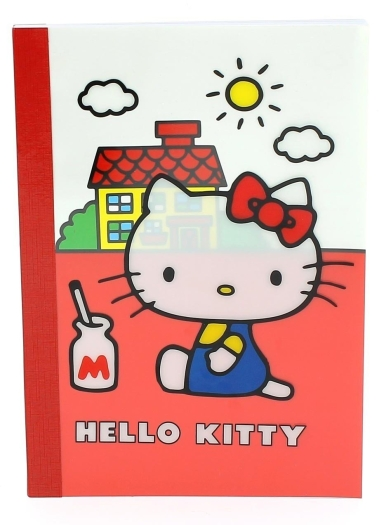 Hello Kitty HKVI0776 Notebook A5