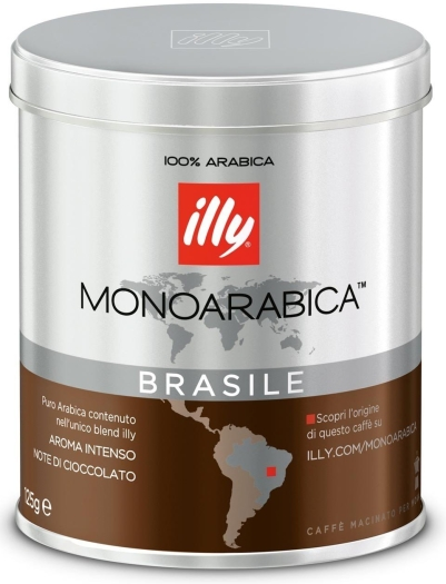 Illy Monoarabica Espresso for mocha from Brazil 125g