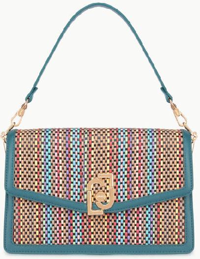 Liu Jo Shoulder bag with multi-coloured weaves