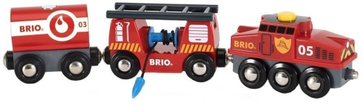 BRIO RW Trains Brio Rescue fire train