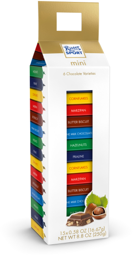 Ritter Sport Mini Tower 250g