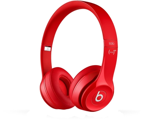 Beats Solo2 On-Ear Headphones Red
