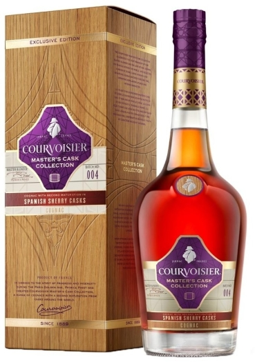 Courvoisier Master's Cask Collection Sherry Cask Gift Pack 1L