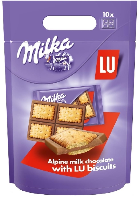 Milka Сhocolate with LU biscuite 350g