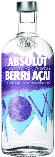 Absolut Vodka Berri Acai 1L