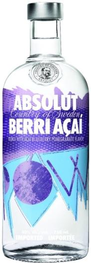 Absolut Vodka Berri Acai 1L