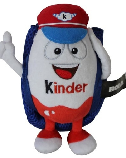 Plush filled with Kinder chocolate 150g