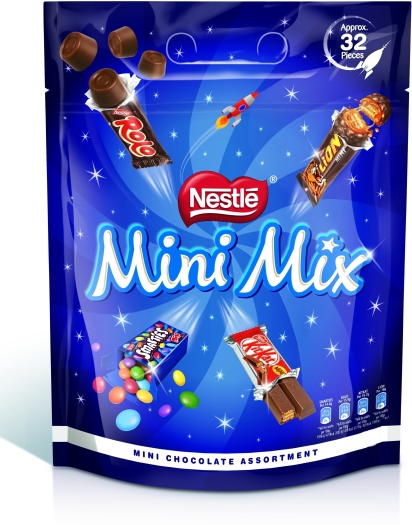 Nestle Mini Mix Bag 390g