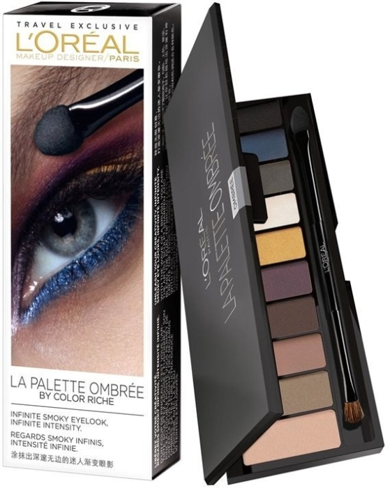 L'Oreal Paris Color Riche La Palette Smoky 55g