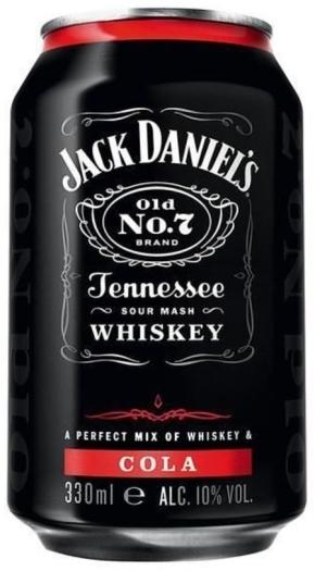 Jack Daniel's&Cola 0.33L