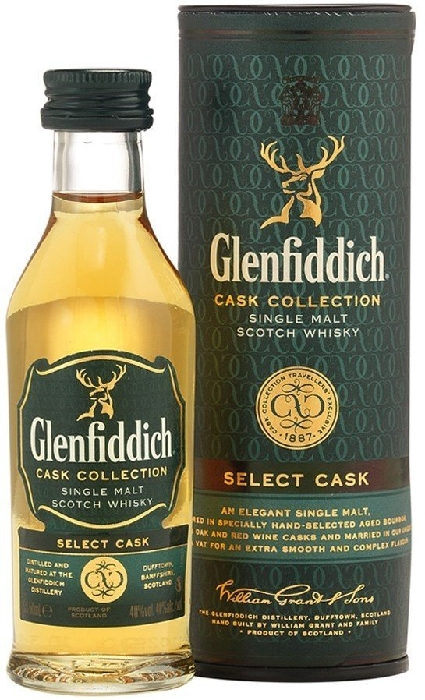 Glenfiddich Select Cask Collection 0.05L