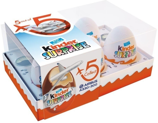 Ferrero Kinder Surprise Airbus Set 105gr
