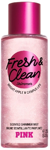 Victoria's Secret Pink Body Fresh And Clean Shimmer Mist 250ML
