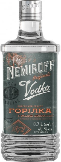 Nemiroff Original Vodka 1L