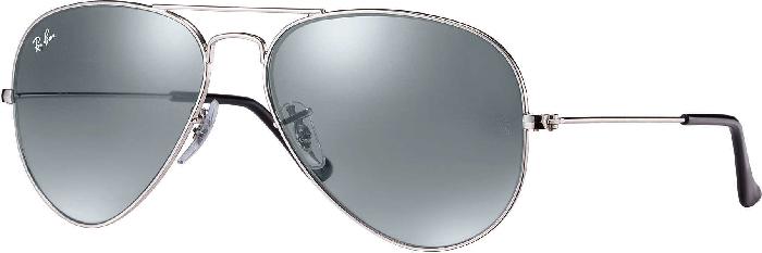 Ray-Ban Silver Aviator Sunglasses