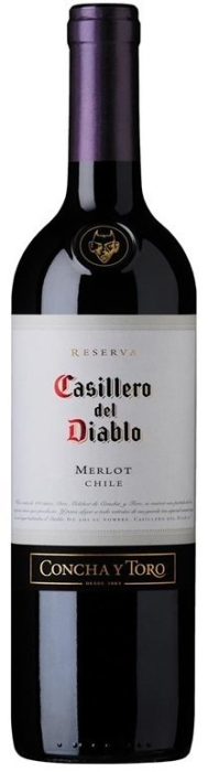 Casillero del Diablo Merlot Rapel Dry Red 0.75L