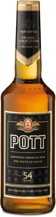 Pott Rum 54% 1L