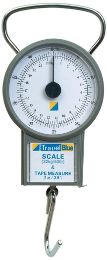 Travel Blue Luggage Scales