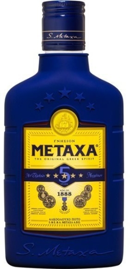 Metaxa 5 Star 38% 0,2L