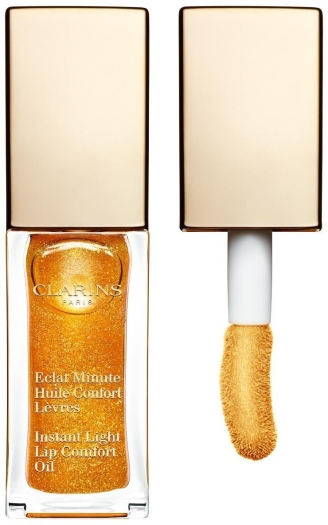 Clarins Instant Light Beauty Perfector Lip Oil N7 Honey Shimmer 7ml