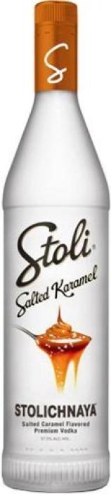 Stolichnaya Salted Karamel Vodka 1L