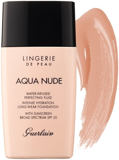 Guerlain Lingerie de Peau Aqua Nude Foundation N04N Medium 30ml