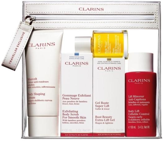 Clarins Skincare Perfect Body Set 2x100ml + 2x30ml