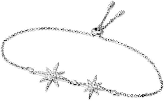 APM Monaco Double Météorites Bracelet - Silver