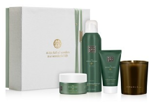 Rituals Jing Set cont.: Dao Candle for gifts + Foaming Shower Gel 200ml + Body Cream 70ml + Body Scrub 125ml 1ST