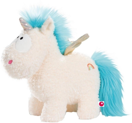 Nici Theodor Friends Unicorn Rainbow Flair with Wings 22cm Standing