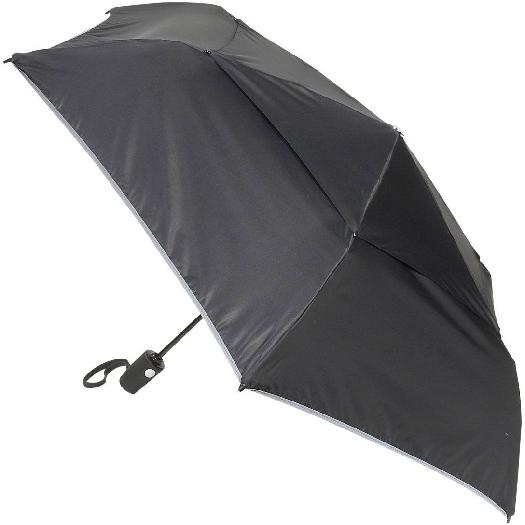 Tumi Automatic Umbrella, Average size 3,25x28,5x6,25cm, Black 14415 D