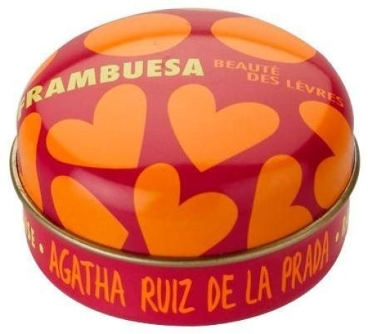 Agatha Ruiz de la Prada Fruit Fragranced Lip Balm, raspberry 15ml
