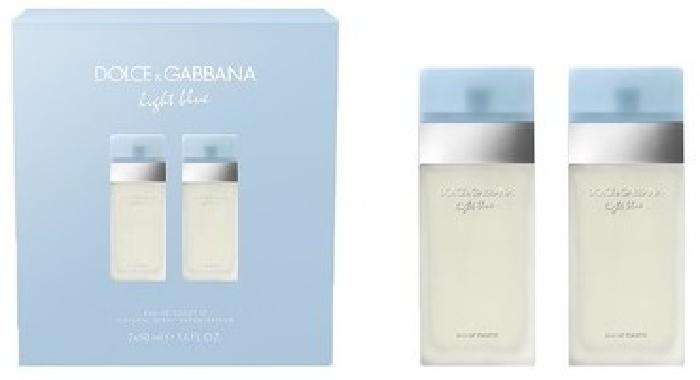 Dolce&Gabbana D&G Light Blue Duo 2x50ml