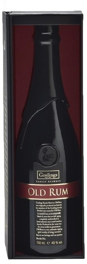 Goslings Family Reserve Old Rum 40% 0.75L