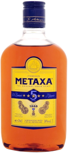 Metaxa 5* Brandy PET 0.5L