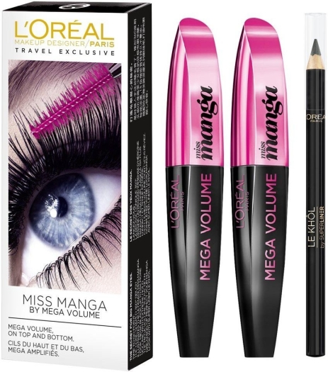 L'Oreal Paris Mascara Set 2x8ml+1.5g