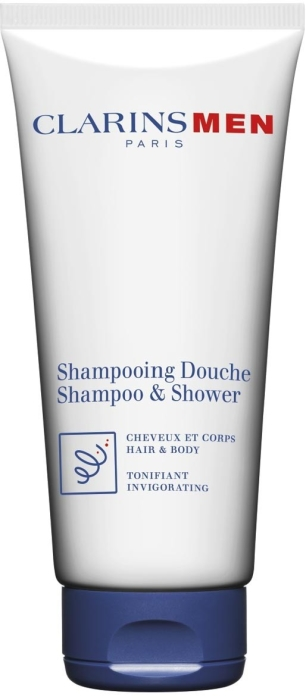 Clarins Men Wash Total Shampoo and Shower 200ml